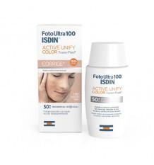 Fotoultra Isdin 100 Actif Unifier la Fusion Liquide Couleur 50 ml