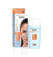 De la crème solaire Isdin 50 de Fusion de l'Eau 50 ml