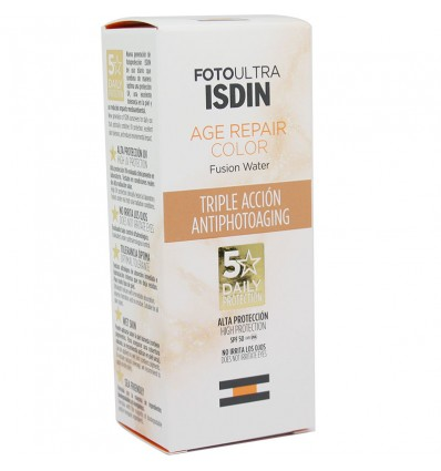 Fotoultra Isdin Age repair Fusion Water Color 50 ml