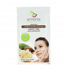 Armonia Mascarilla Facial Hidratante Noche Karite Pino 1 Sobre