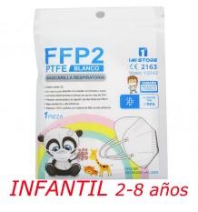 Mascarilla Ffp2 Nr 1MiStore Infantil Blanca 1 Unidad