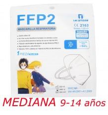 Mascarilla Ffp2 Nr 1MiStore Mediana Blanca 1 Unidad