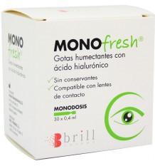 MonoFresh Artificial Tears 30 Single-Dose Hyaluronic Acid