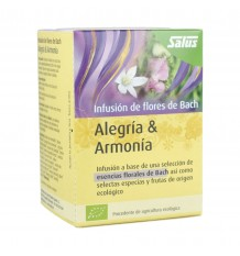 Salus Infusion Bach Flowers Alegria Harmony 15 Filters