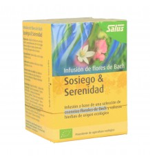 Salus Infusion Bach Flowers Calm Serenity 15 Filters