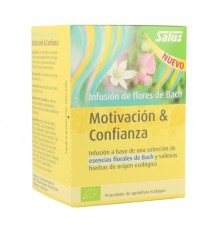 Salus Infusion of Flowers of Bach Motivation Confidence 15 Filters