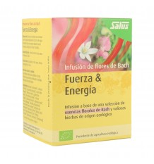 Salus Infusion Bach Flowers Strength Energy 15 Filters