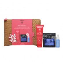 Apivita Bee Sun of sunscreen, anti-Aging Stain-blocking primer Spf50 50ml + Bag
