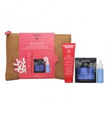 Apivita Bee Sun Sun Cream Sensitive Skins Spf50 50ml + Bag
