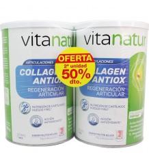 Vitanatur Collagen Antiox 360g + 360g 60 dias Duplo Promocion