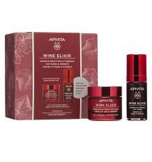 Apivita Cofre Wine Elixir Crema Textura Ligera 50ml + Serum Lift 30ml