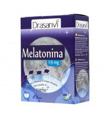 La Mélatonine 60 Capsules 1,9 Mg Drasanvi