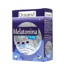 Melatonina 60 Cápsulas 1, 9 Mg Drasanvi