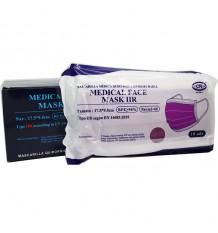 Mask Surgical IIR Lilac 50 Units Box Club Nautico