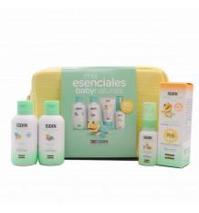 Isdin Baby Naturals Essential Pack Lotion Gel Zn40 Parfümiertes Wasser Tasche