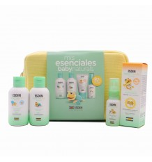 Isdin Baby Naturals Essential Pack Lotion Gel Zn40 Scented Water Bag