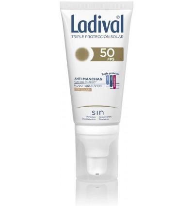 Ladival 50 Antimanchas Color Toque Seco 50 ml