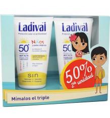 Ladival für Kinder 50 Hydrating Milk 300 ml Doppel-Einsparungen