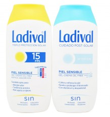 Ladival 15 Cream 200 ml+After Sun 200 ml
