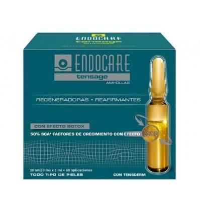 Endocare Tensage Ampollas 20 Unidades