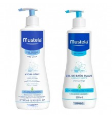 Mustela Hydra Bebe 500ml + Gel Lavante 500ml