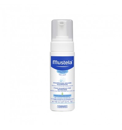 Mustela Shampoo Mousse Newborn 150ml