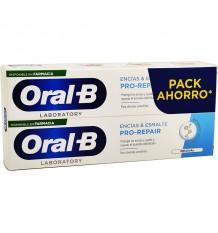 Oral B Encias Esmalte Pro Repair pasta de dente 100ml + 100ml Duplo