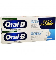 Oral B gomme émail Pro Réparation dentifrice 100 ml + 100 ml Duplo