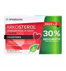 Arkosterol Levedura Vermelha Q10 60 + 60 Cápsulas Duplo