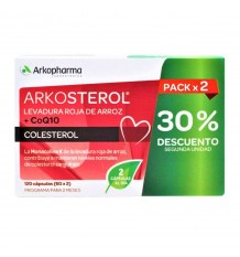 Arkosterol Red Yeast Q10 60 + 60 Capsules Duplo
