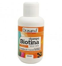 Drasanvi Biotin Shampoo Trockenes stumpfes Haar 100 ml Reiseformat