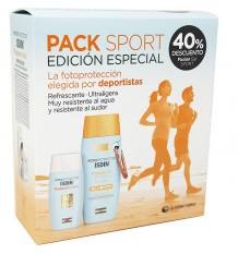 Fotoprotector Isdin Sport Pack Fusion Water Fusion Gel
