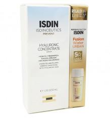 Isdinceutics Concentré Hyaluronique 30ml + Eau Fusion Urbaine 10ml