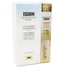 Isdinceutics Hyaluronic Concentrate 30ml + Urban Fusion Water 10ml