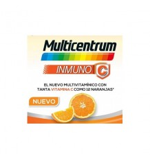 Multicentrum Inmuno 28 Sobres Efervescentes Naranja