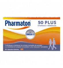 Pharmaton 50 Plus 30 Capsules