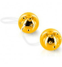 Sevencreations Chinesische Bälle Duo Bälle Gold