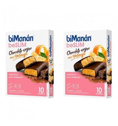 Bimanan Beslim Orange Chocolate Bar 10 bars + 10 bars Duplo Promotion