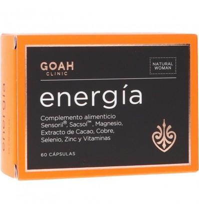 Goah Clinic Energia 60 Capsulas
