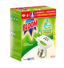 Bloom Pronature Mosquito Elétrico Aparelho + 2 Peças De Reposição