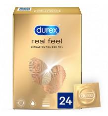 Préservatifs Durex Real Feel 24 unités