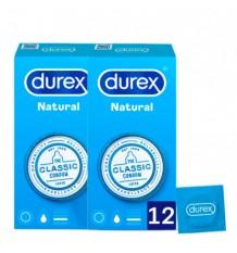 Durex Preservativos Natural 12 +12 Unidades Duplo