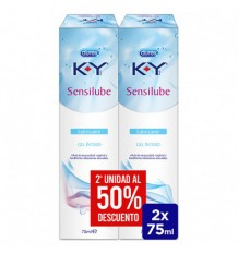Durex Sensilube K-Y Intimate Lubricant Gel Duplo 2 x 75ml