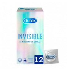 Durex Preservativo Invisible Sensitivo 12 unidades