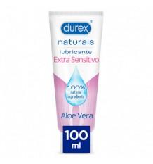 Durex Naturals Lubricante Extra Sensitivo Aloe Vera 100ml