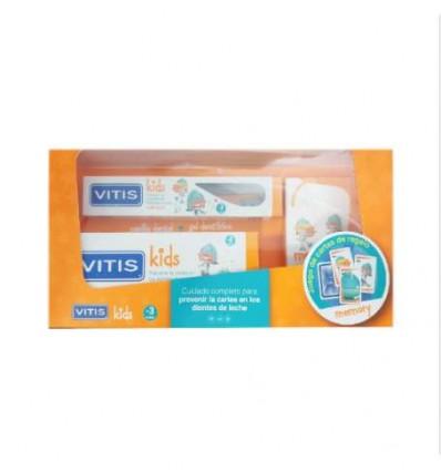 Vitis Kids Cepillo Gel Fresa 50 ml Cartas