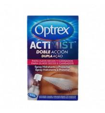 Optrex Actimist Spray Yeux Secs 10 ml