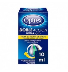 Optrex Double Action Yeux qui Démangent 10ml