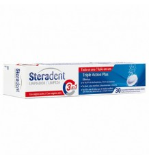Nettoyant Triple Action Steradent 30 Pilules