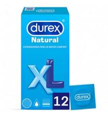 Préservatifs Durex Natural XL 12 unités